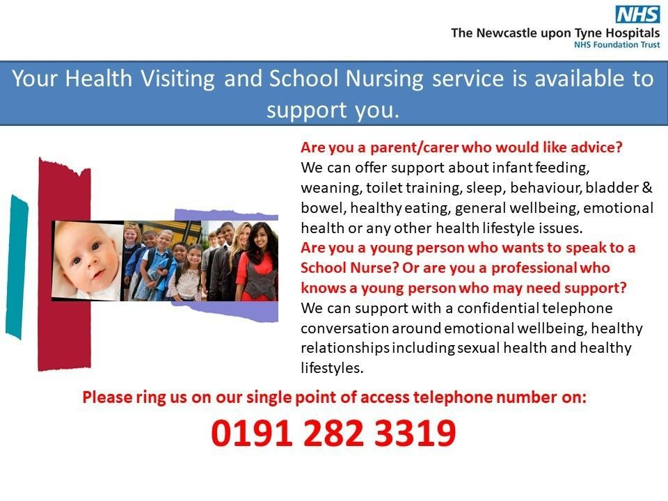 Health Visiting and School Nurse Service Update