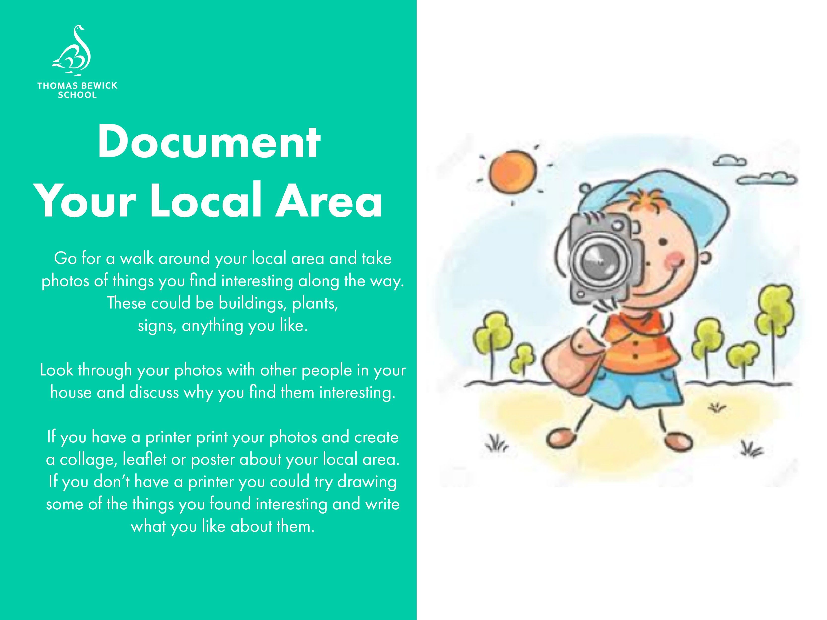 Document Your Local Area