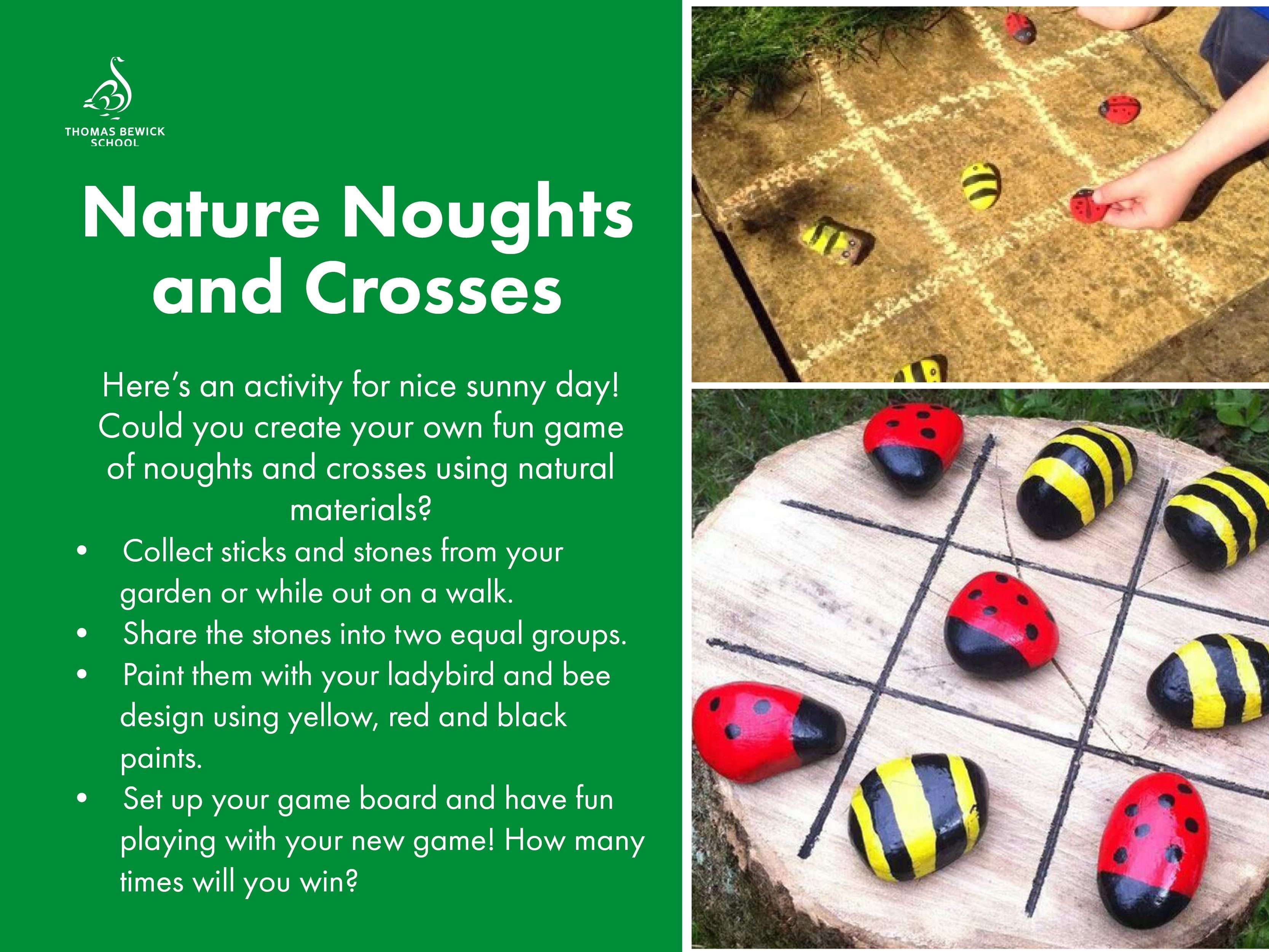 Nature Noughts and Crosses