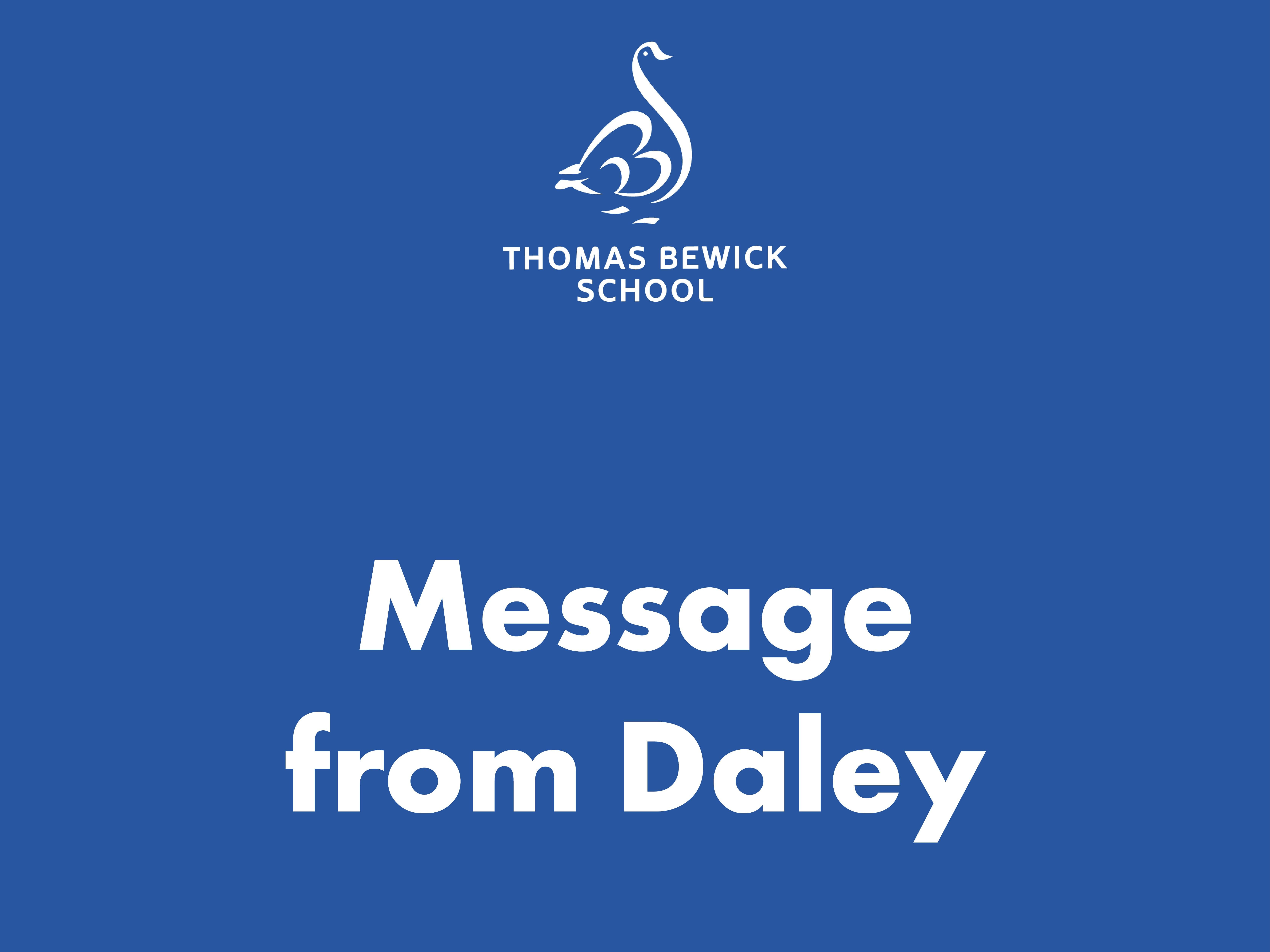 Message From Daley