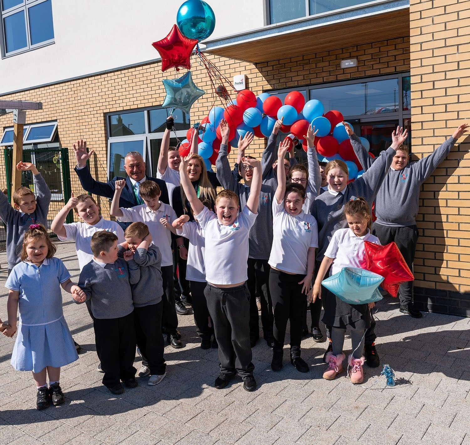 Harry Watts Academy New Building Opens to Pupils