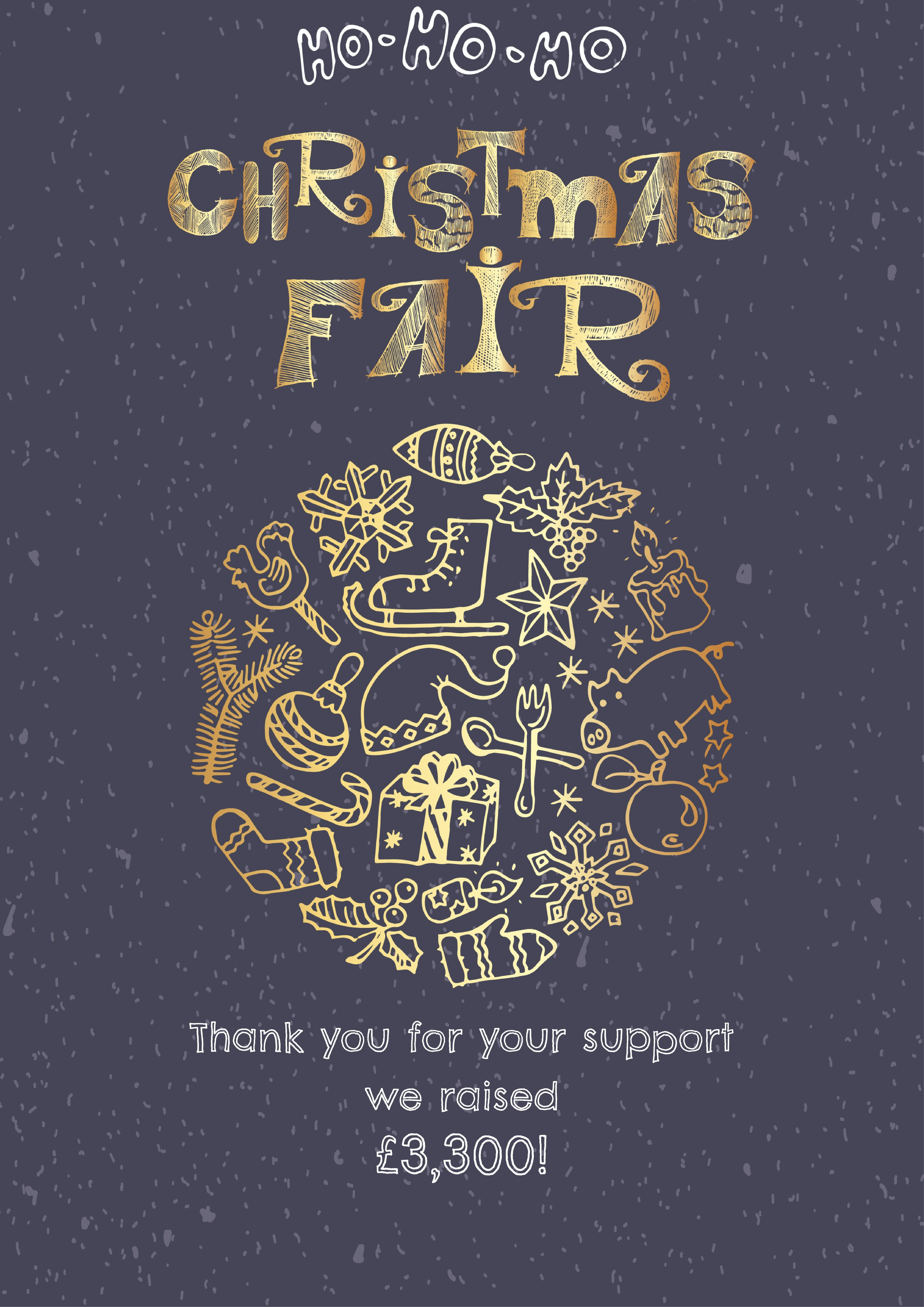 Christmas Fair Raises £3,300!