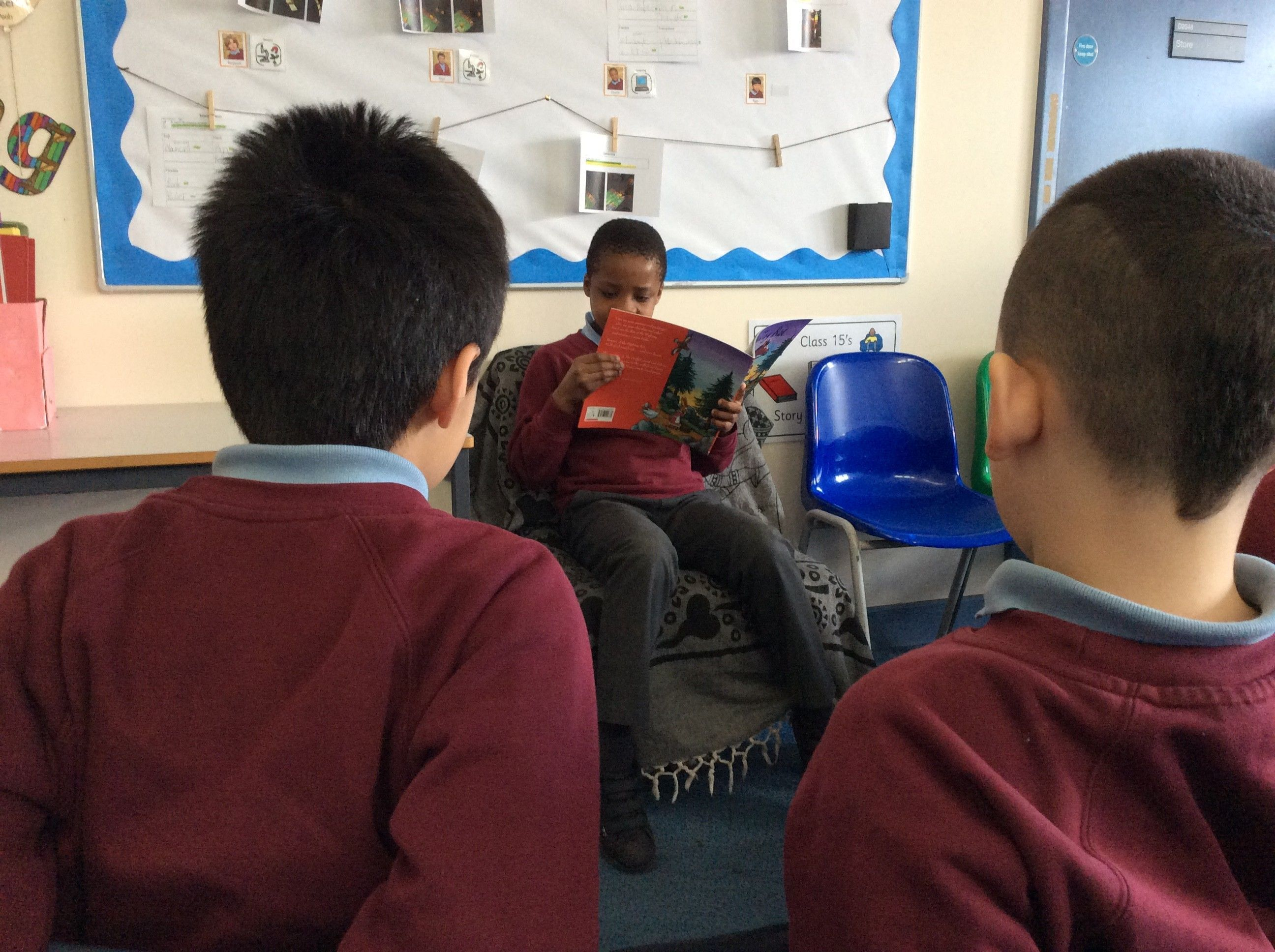 Class 15 Read for Book Week