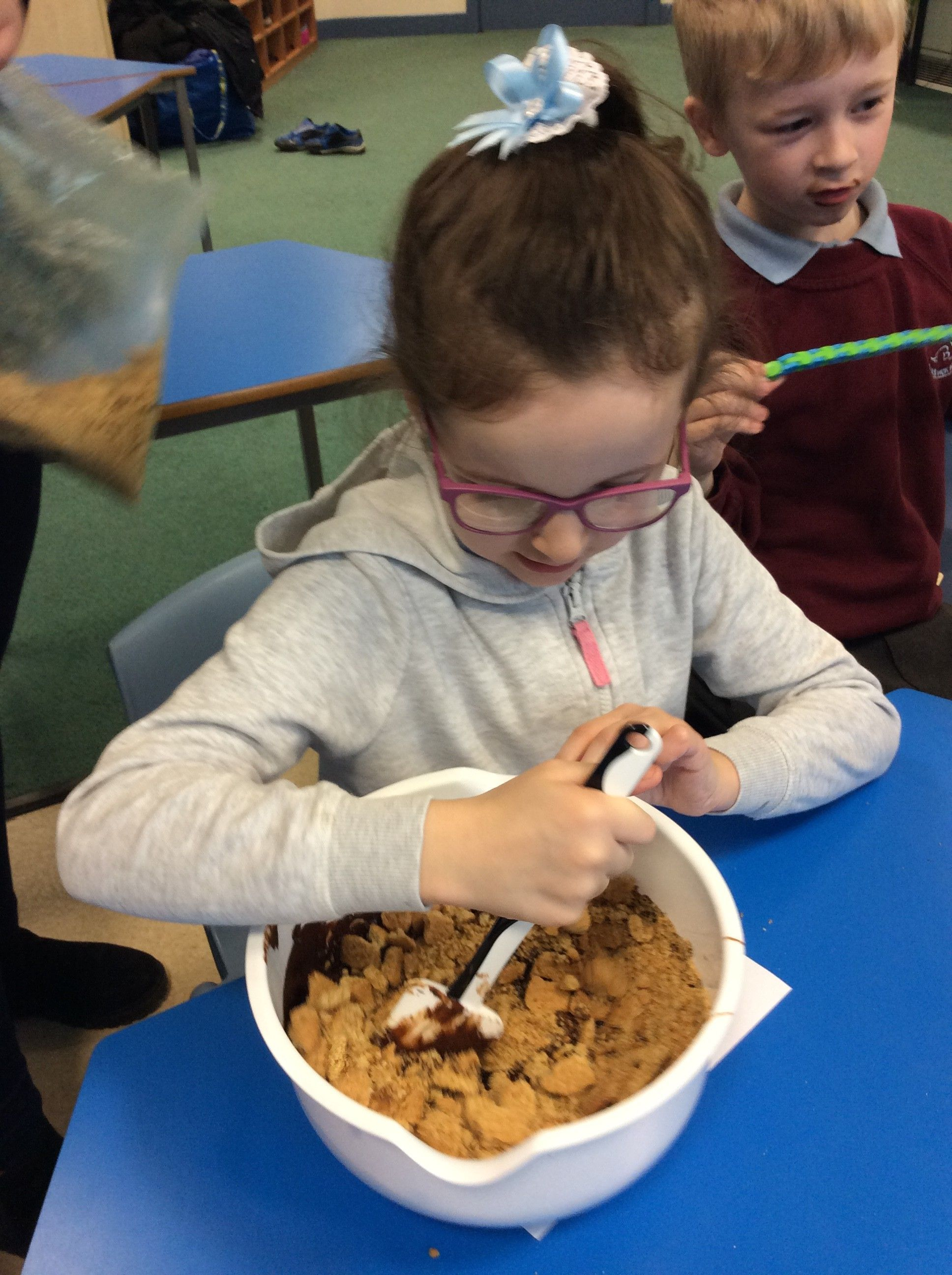 My Favourite Food is... Gruffalo Crumble!