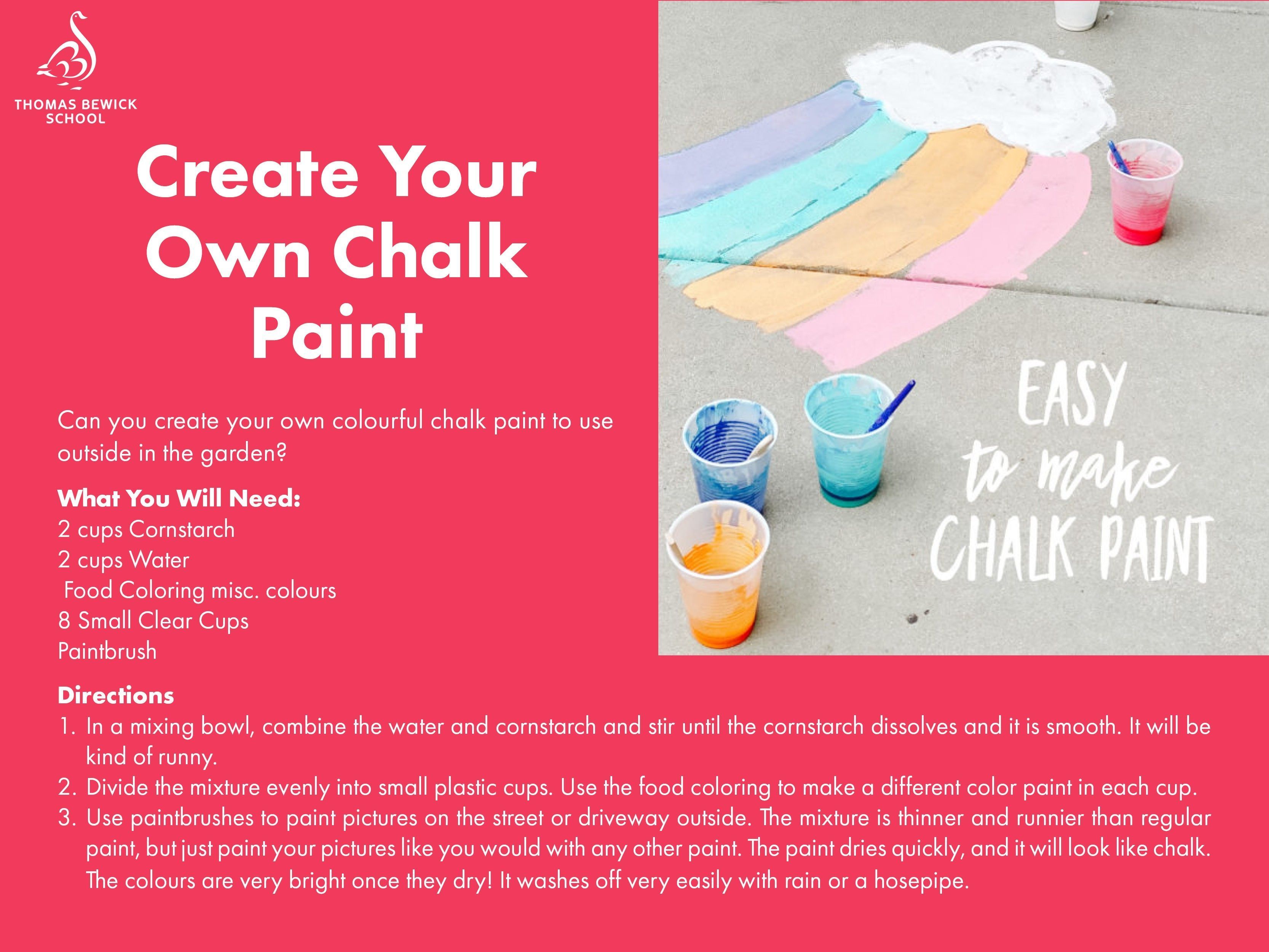 Create Your Own Chalk Paint