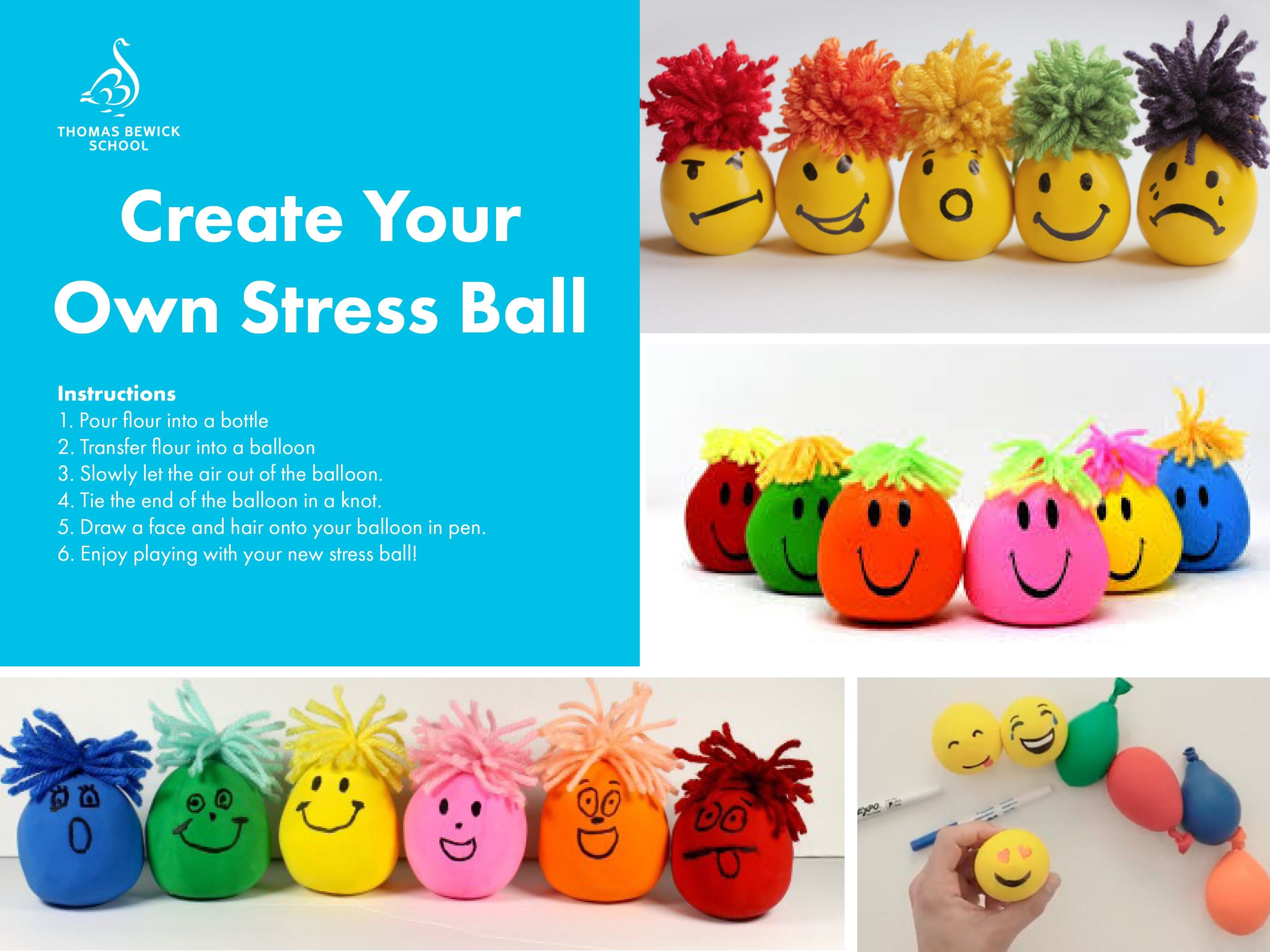Create Your  Own Stress Ball
