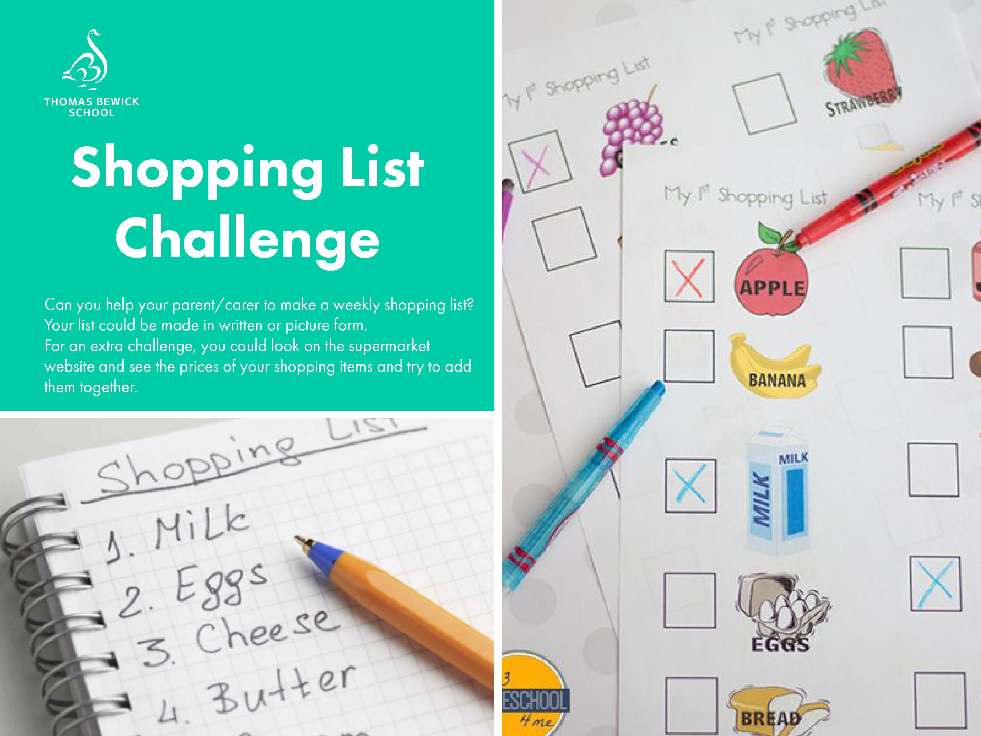 Shopping List Challenge