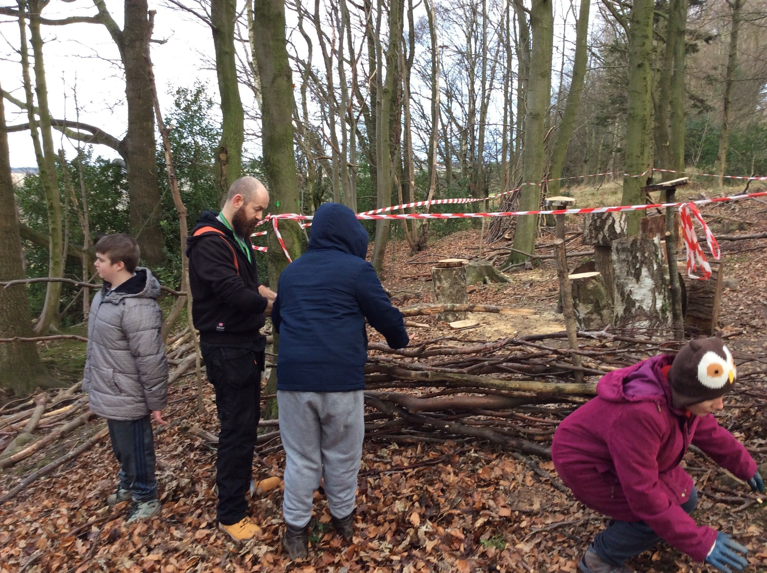 Duke of Edinburgh Volunteering at Gibside